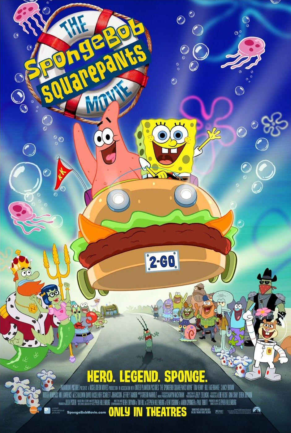 The Spongebob Squarepants Movie 2004 Matt damon, melanie lynskey, clancy brown, frank welker, scott bakula. the spongebob squarepants movie 2004