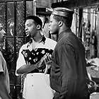 Lexie Bigham, Byron Minns, and Glenn Plummer in South Central (1992)