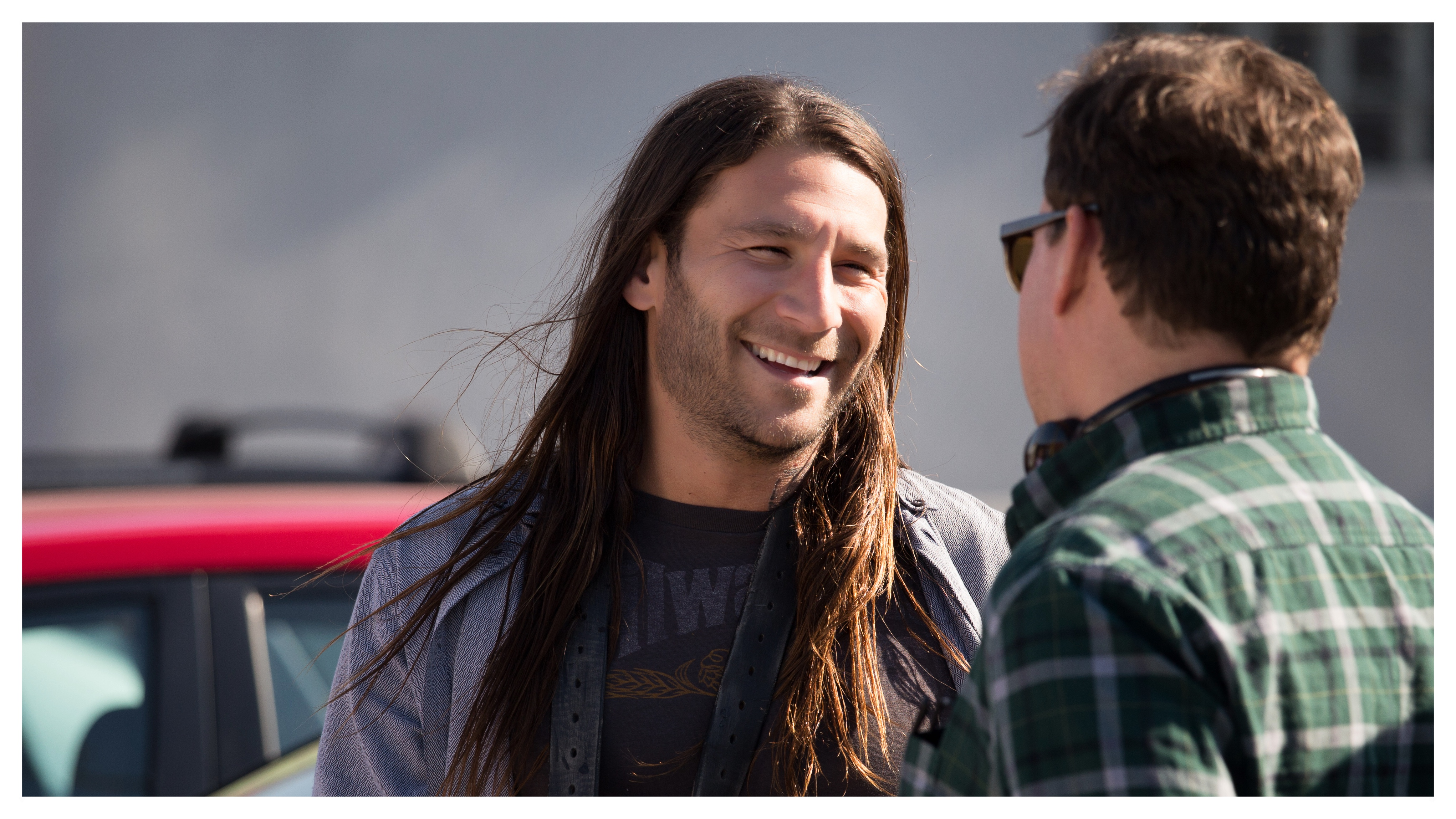 Zach McGowan and David Singer in Imperfections (2018)
