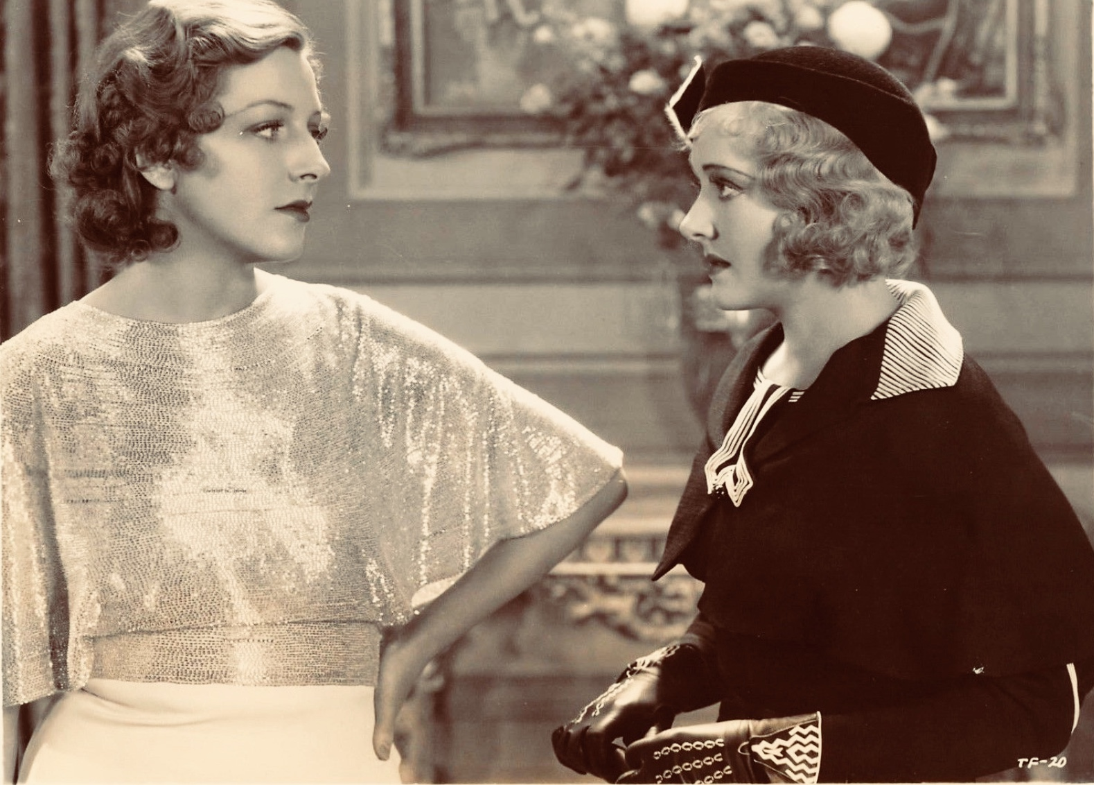Gertrude Michael and Vivienne Osborne in Sailor Be Good (1933)