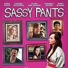 Haley Joel Osment, Diedrich Bader, Anna Gunn, and Ashley Rickards in Sassy Pants (2012)