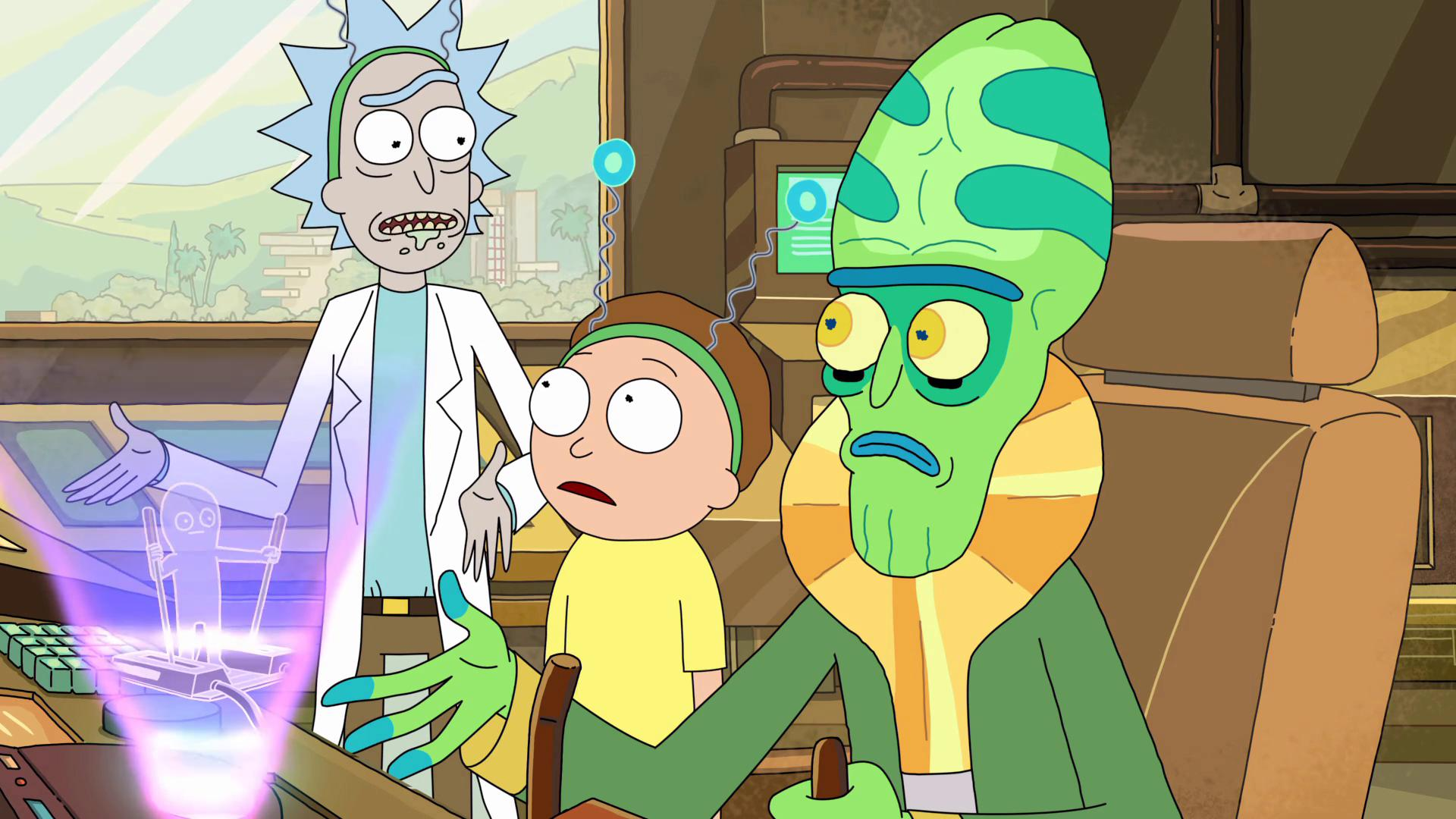 Rick And Morty The Ricks Must Be Crazy Tv Episode 2015 Imdb