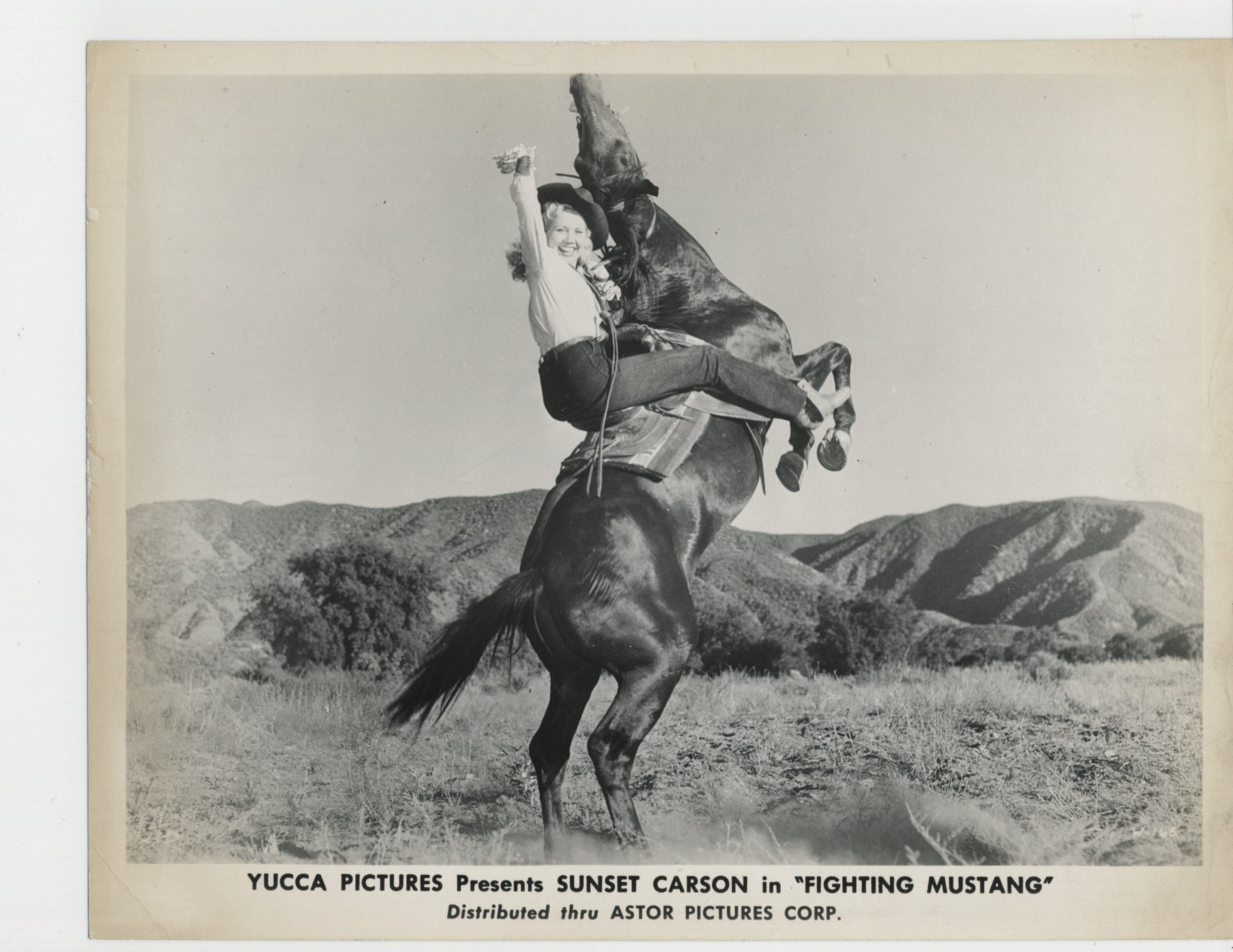 Pat Starling in Fighting Mustang (1948)