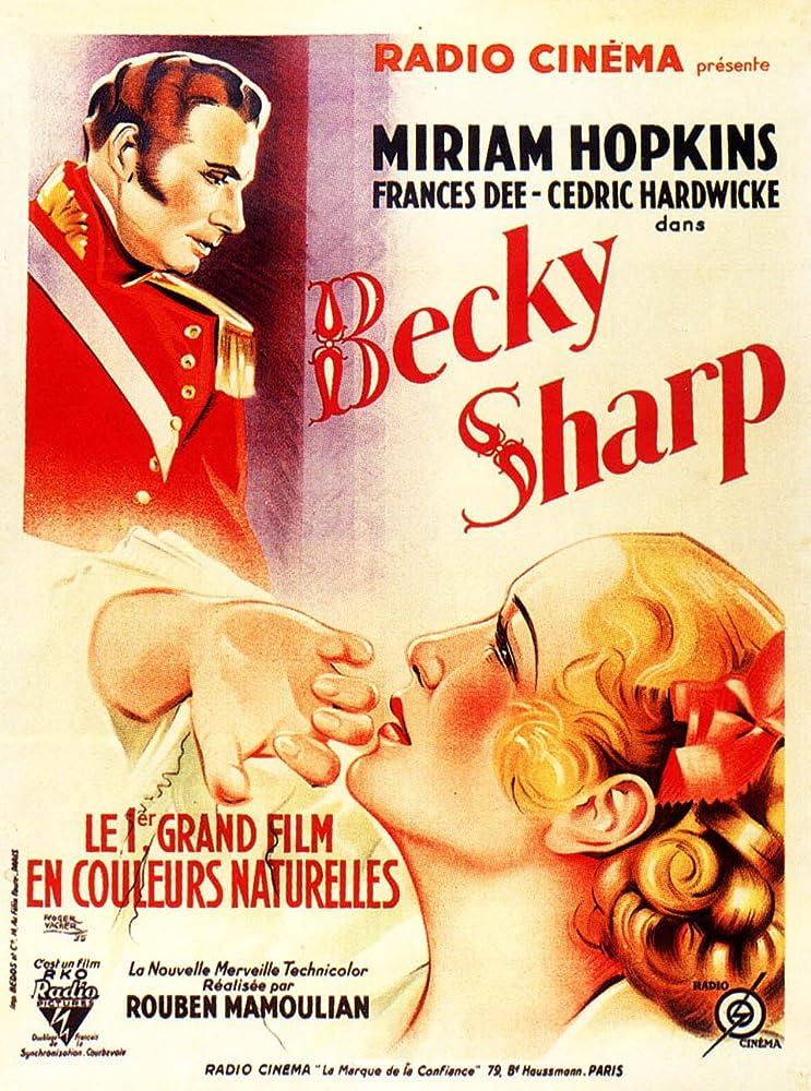 Cedric Hardwicke and Miriam Hopkins in Becky Sharp (1935)