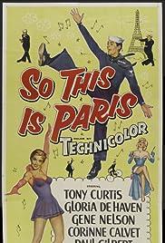 So This Is Paris(1954) Poster - Movie Forum, Cast, Reviews
