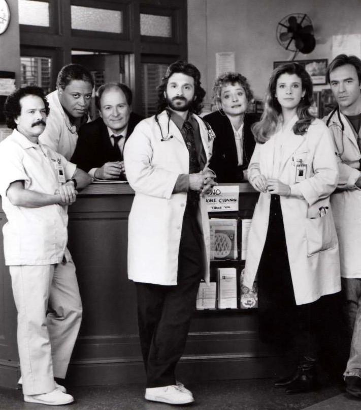 Fausto Bara, Casey Biggs, Dennis Boutsikaris, Ron Canada, Alix Elias, Alison La Placa, and David Margulies in Stat (1991)