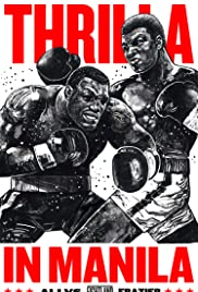 Thrilla in Manila Poster