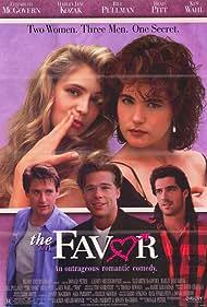 Brad Pitt, Bill Pullman, Elizabeth McGovern, Harley Jane Kozak, and Ken Wahl in The Favor (1994)