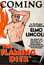 The Flaming Disc Poster