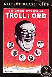 Troll i ord Poster