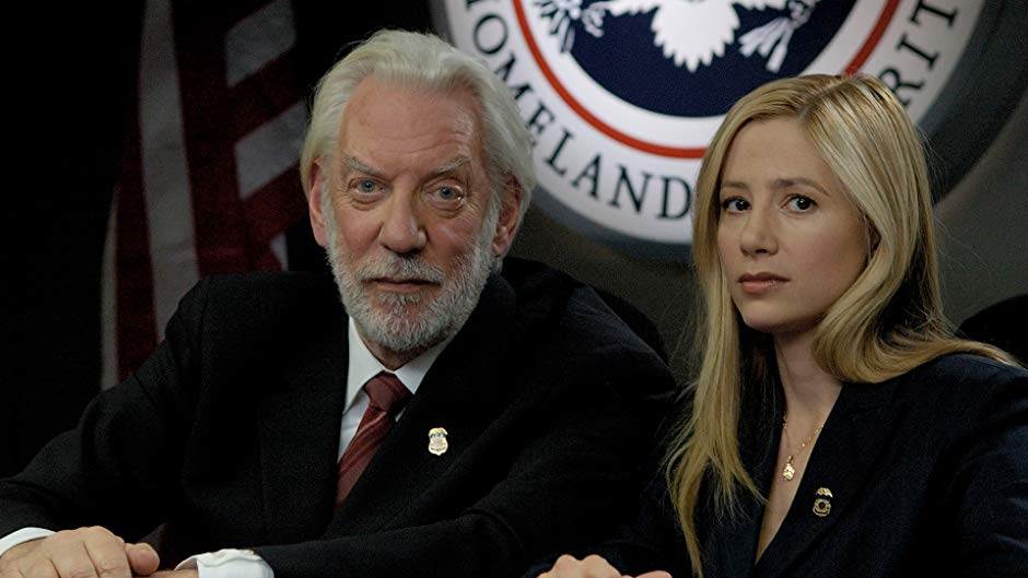 Mira Sorvino and Donald Sutherland in Human Trafficking (2005)