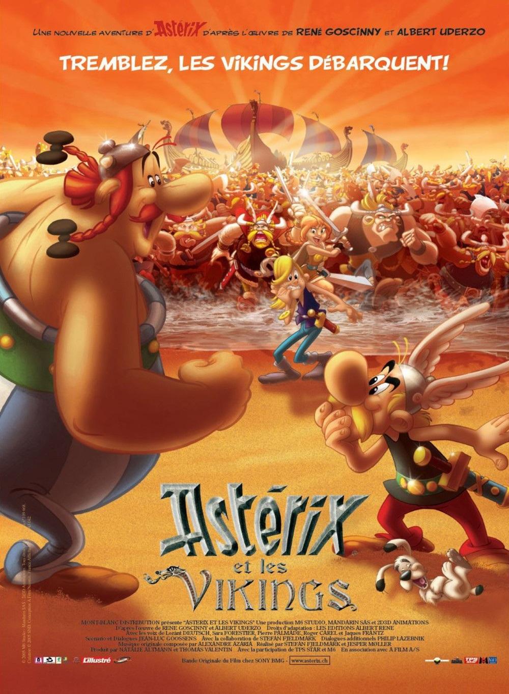 دانلود زیرنویس فارسی فیلم Astérix et les Vikings