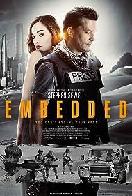Nick Barkla and Laura Gordon in Embedded (2016)
