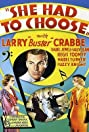 She Had to Choose (1934) Poster