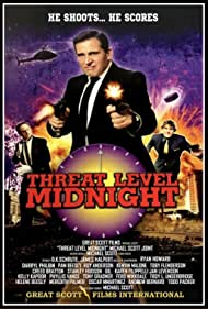 Steve Carell, Rainn Wilson, and John Krasinski in Threat Level Midnight: The Movie (2019)