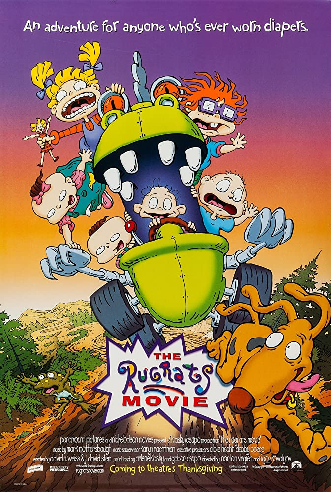 The Rugrats Movie 1998 Hindi Dual Audio 300MB BluRay ESubs