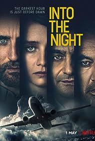 Laurent Capelluto, Stefano Cassetti, Mehmet Kurtulus, and Pauline Etienne in Into the Night (2020)