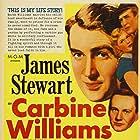 James Stewart, Wendell Corey, and Jean Hagen in Carbine Williams (1952)