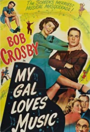 My Gal Loves Music Poster