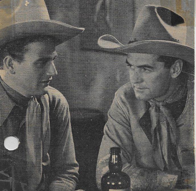 John Wayne and Jay Wilsey in Rainbow Valley (1935)