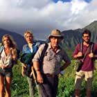 Amy Carlson, Charles Shaughnessy, Alexandria DeBerry, and Brent Bailey in A Midsummer's Hawaiian Dream (2016)
