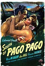 South of Pago Pago Poster
