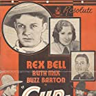 Buzz Barton, Rex Bell, Philo McCullough, and Ruth Mix in Gunfire (1934)