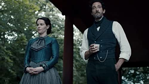 """This house will drive you mad. Based on the short story """"Jerusalem's Lot"""" by Stephen King, CHAPELWAITE starring Adrien Brody premieres only on EPIX."""