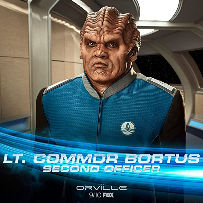 Peter Macon in The Orville (2017)
