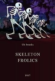 Skeleton Frolics Poster