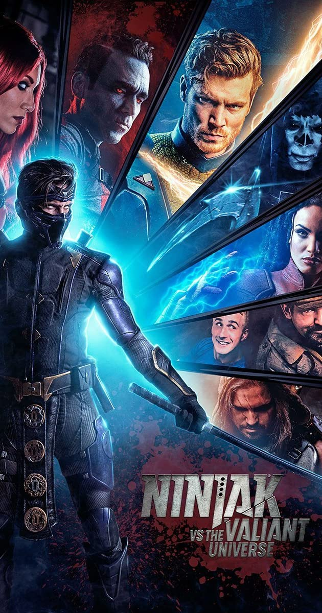 Download Ninjak vs the Valiant Universe or watch streaming online complete episodes of  Season1 in HD 720p 1080p using torrent