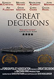Great Decisions Poster