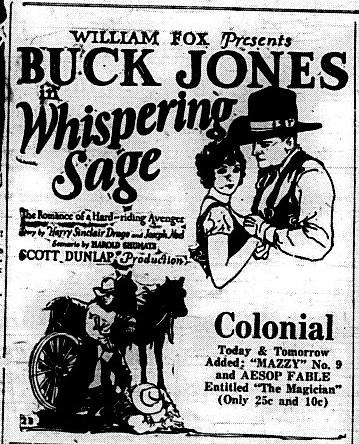 Whispering Sage (1927)