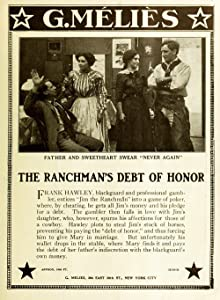 Watch online hollywood movies online The Ranchman's Debt of Honor [1280x720p]