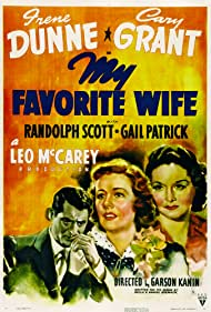 Cary Grant, Irene Dunne, and Gail Patrick in My Favorite Wife (1940)