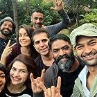 Arjun Rampal, Farhan Akhtar, Purab Kohli, Prachi Desai, and Shraddha Kapoor in Rock On 2 (2016)
