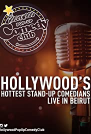 Hollywood Pop Up Comedy Club Poster