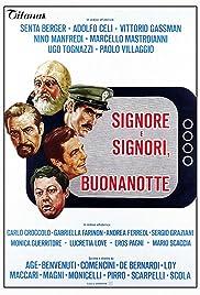 Signore e signori, buonanotte(1976) Poster - Movie Forum, Cast, Reviews