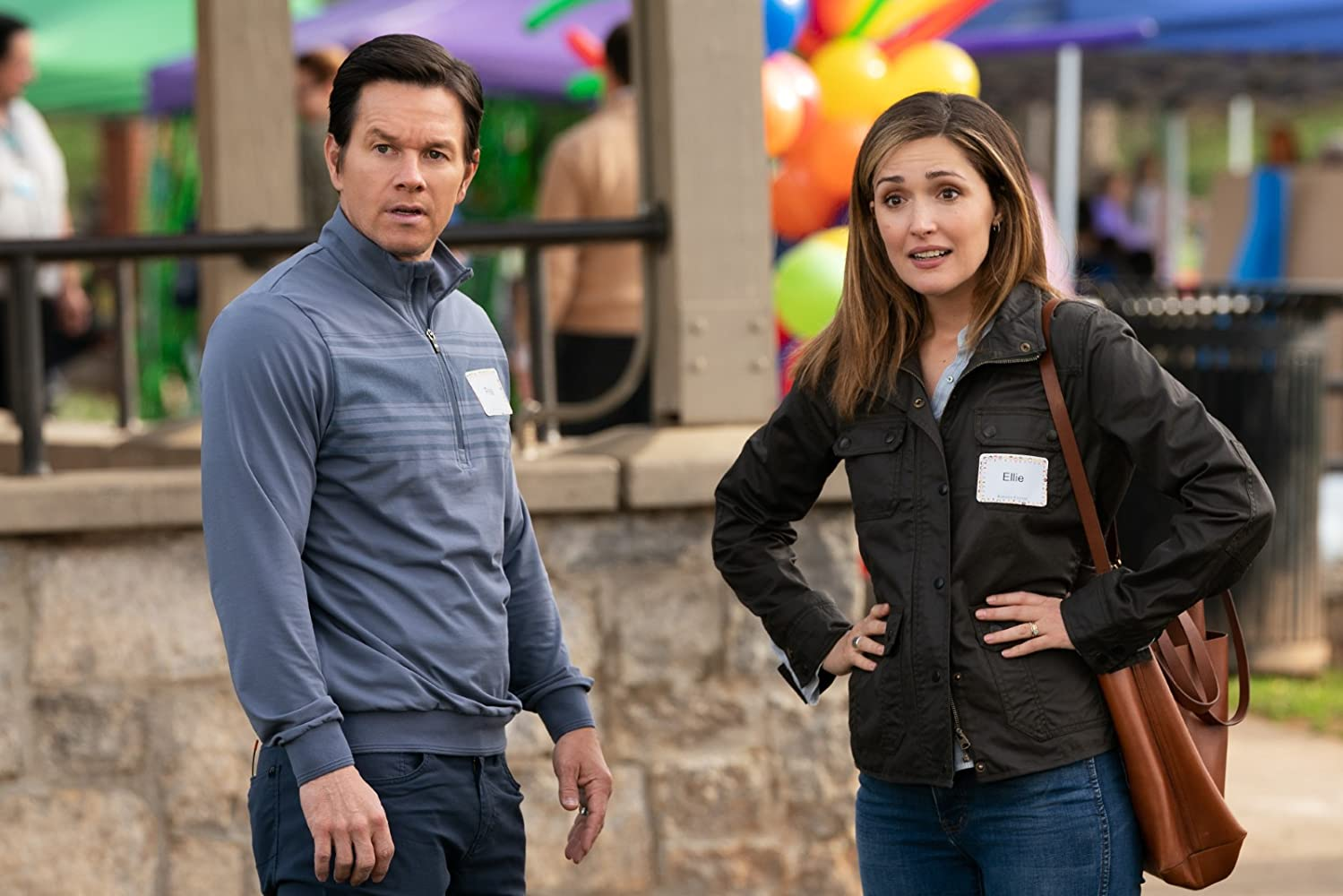 Mark Wahlberg and Rose Byrne in Instant Family (2018)