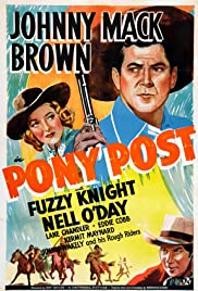 Pony Post Poster