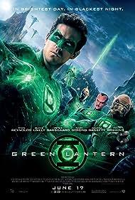 Geoffrey Rush, Michael Clarke Duncan, Ryan Reynolds, and Mark Strong in Green Lantern (2011)