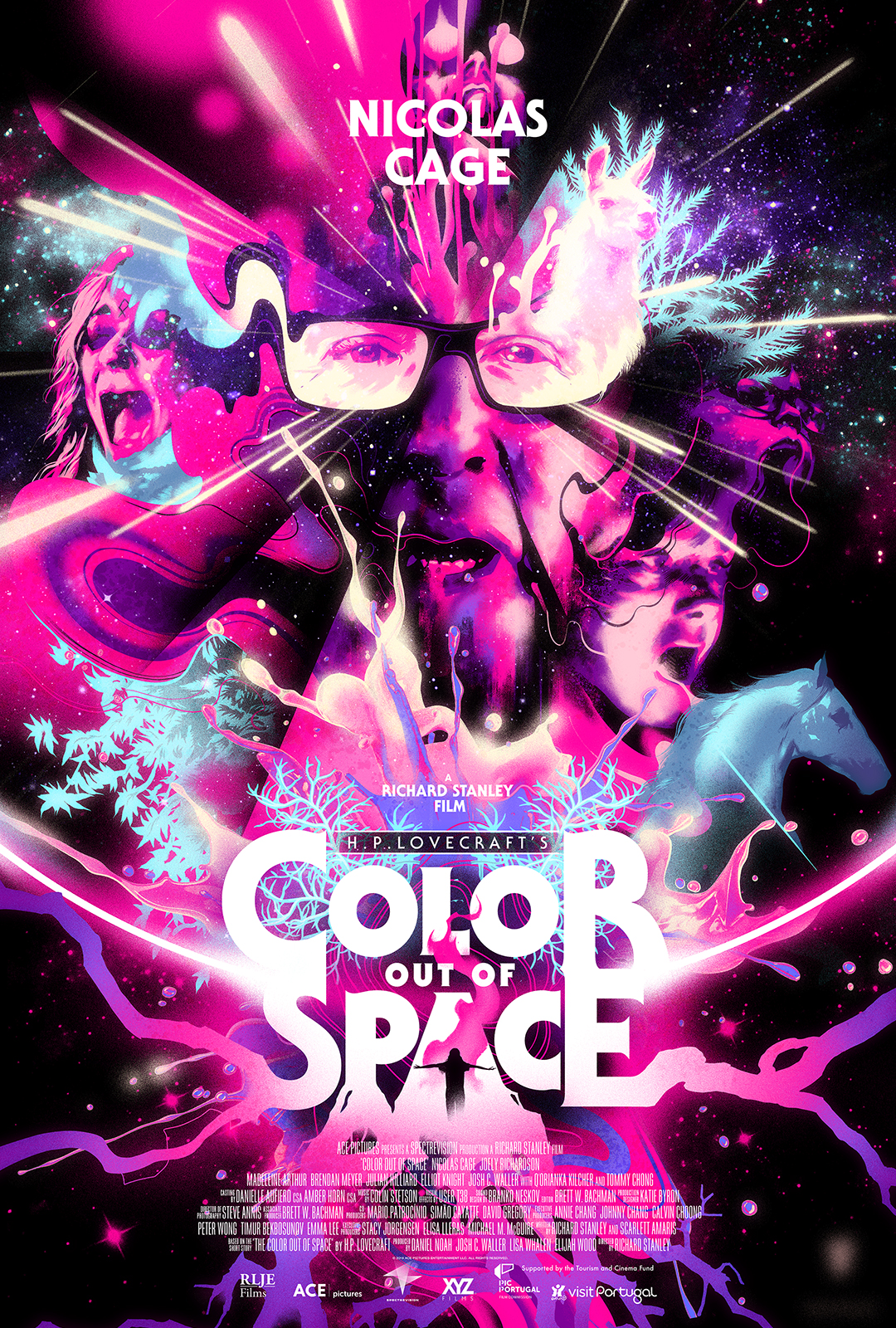 SPALVA IŠ KOSMOSO (2019) / Color Out of Space