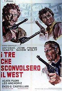 Movies ipod download I tre che sconvolsero il West (Vado, vedo e sparo) [720x1280]