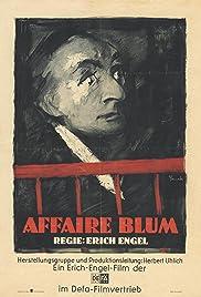 The Affair Blum Poster