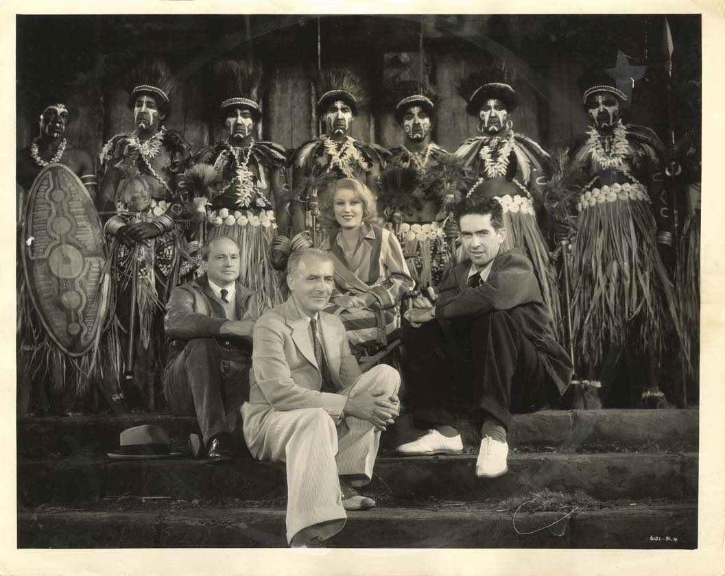 Merian C. Cooper, Willis H. O'Brien, Ernest B. Schoedsack, and Fay Wray in King Kong (1933)