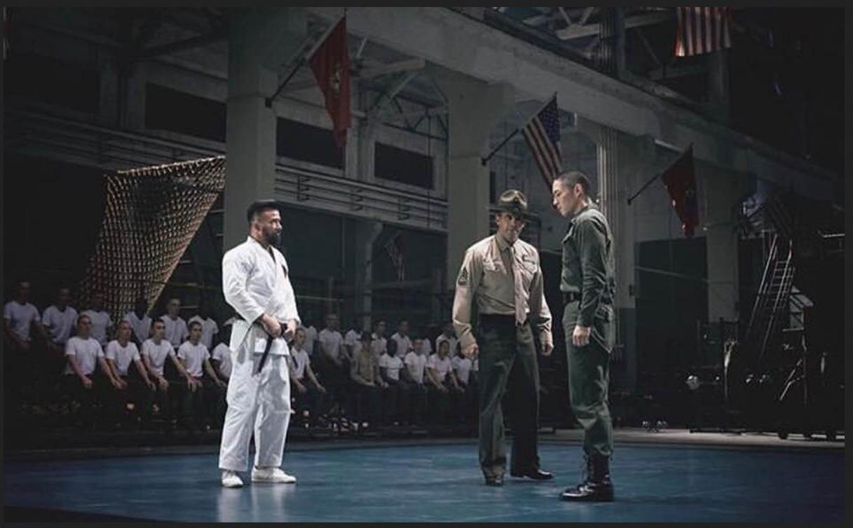 Scott Adkins, Vanness Wu, and Chris Collins in Yip Man 4 (2019)