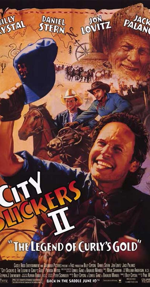 Subtitle of City Slickers II: The Legend of Curly's Gold
