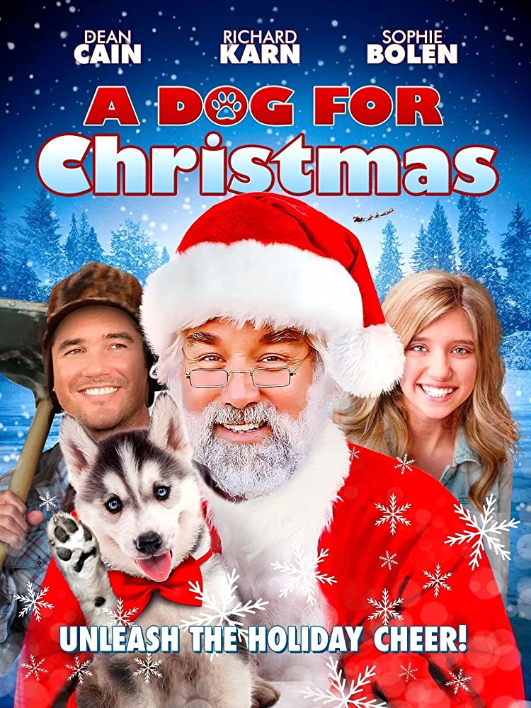 A Dog for Christmas DVD Cover