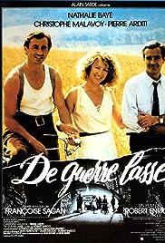 De guerre lasse (1987) film en francais gratuit