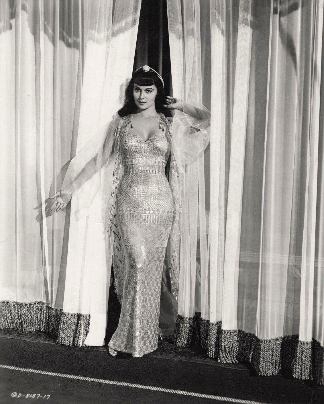 Rhonda Fleming in Serpent of the Nile (1953)